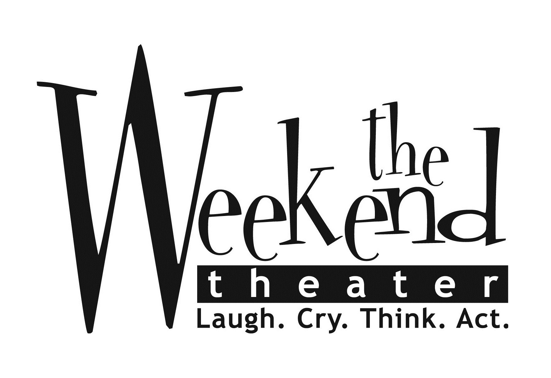 The Weekend Theater is a black-box community theater producing social issue theater.